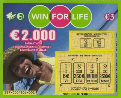 Win for life 3€